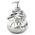 Retro Monopoly Silver Moneybag Lotion Pump