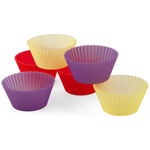 Regency Sili-Cups Jewel Muffin Cup, Set of 6