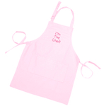"Pink Kid's Adjustable Apron ""I'm The Chef"""