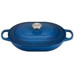 Le Creuset Signature Marseille Enameled Cast Iron 3.75 Quart Oval Casserole Dish