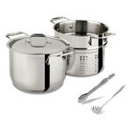 All-Clad 18/10 Stainless Steel 3 Piece Pasta Set
