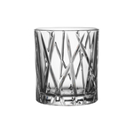 Orrefors City 8 Ounce Old Fashioned Glass, Set of 4