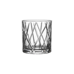 Orrefors City 10.8 Ounce Double Old Fashioned Glass, Set of 4