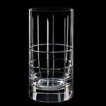 Orrefors Street Crystal 15 Ounce Tumbler Glass, Set of 2