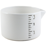 Small White Ceramic Multi-Purpose Salt Cellar