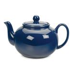 RSVP Blue Stoneware 16 Ounce Teapot