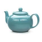 RSVP Turquoise Stoneware 16 Ounce Teapot
