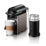 Nespresso by Breville Electric Titan Pixie Espresso Machine with Frother