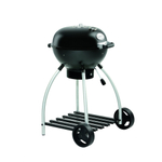 Rosle Black Enameled Steel Charcoal Kettle Grill No.1 Sport F50