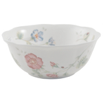Lenox Butterfly Meadow Large Porcelain All Purpose Bowl