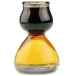 Quaffer Double Bubble Layered Shot Glass, Set of 6