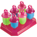 Tovolo Frozen Jewel Ice Pops, Set of 6