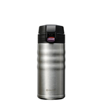 Kyocera Stainless Steel 12 Ounce Flip Top Ceramic Insulated Travel Mug