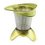 Tovolo Green In-Mug Stainless Steel Tea Infuser
