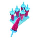 Tovolo Blue Rocket Popsicle Frozen Ice Pop Molds