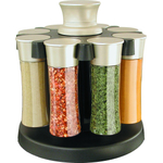 KitchenArt 8 Jar Elite Basic Spice Carousel