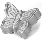 Nordic Ware Platinum Bakeware Butterfly Cake Pan