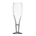 Stolzle Laustiz Bierpokale German Made Crystal Milano Beer Glass, Set of 6