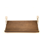 The Drop Block Walnut Plywood 23 x 10.5 Inch Cookbook Holder