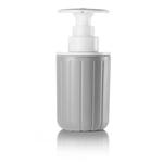Guzzini Grey Push & Soap 10 Ounce Soap Pump