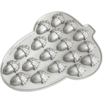 Nordic Ware Platinum Bakeware Themed Shapes Acorn Cakelet Pan