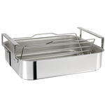 Cristel 18/10 Stainless Steel 3-ply Roaster with Roasting Rack