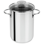 Cristel Mutine Stainless Steel Asparagus Pot