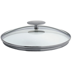 Cristel 12.5 Inch Domed Glass Lid