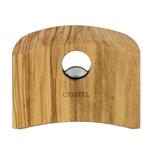 Cristel Olive Wood Handle Set