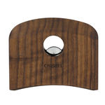 Cristel Walnut Wood Thermodur Resin Detachable Side Handle
