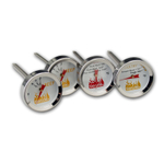 Taylor Weekend Warrior Meat Grilling Thermometer Set of 4