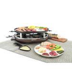 Swissmar Matterhorn Cast Aluminum Raclette Party Grill, Service for 8