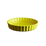 Emile Henry Provence Yellow 9.5 Inch Deep Flan Dish