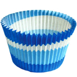 Cupcake Creations Blue Eco Friendly Cupcake Cup, Set of 32