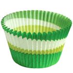 Cupcake Creations Green Eco Friendly Cupcake Cup, Set of 32