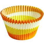 Cupcake Creations Orange Jumbo Cupcake Cup, Set of 24