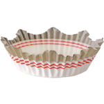 Cupcake Creations Jumbo Crown Muffin Top Baking Cup, Set of 25
