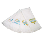 Four Different Hanukkah/Chanukah Fingertip Towels