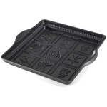 Nordic Ware Non-stick Cast Aluminum 9x9 English Shortbread Pan