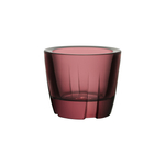 Kosta Boda Aubergine Purple Glass Votive/Anything Bowl