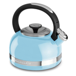 KitchenAid Cameo Blue 2 Quart Kettle with Full Handle and Trim Band