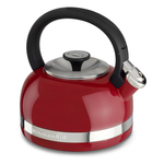 KitchenAid Empire Red 2 Quart Kettle with Full Handle and Trim Band
