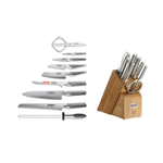 Global Takashi 10 Piece Knife Block Set