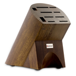 Wusthof 10-Slot Burmese Walnut Knife Block