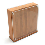 Swissmar Bamboo Magnetic Knife Storage Block
