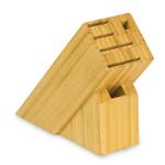 Shun Bamboo 6 Slot Slimline Knife Block without Logo