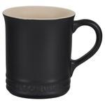 Le Creuset Licorice Enameled Stoneware 14 Ounce Mug