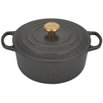 Le Creuset Signature Stone Enameled Cast Iron 5.5 Quart Round Dutch Oven