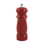 La Mirada Red Colored Acrylic Pepper Mill Grinder