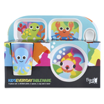 French Bull Ocean 4 Piece Kids Tray Set